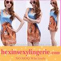 la última venta al por mayor de moda de verano galaxy vestido de verano de las mujeres