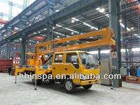 high quality 16M WUSHILING aerial platform truck