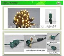 Dia 5mm or Dia 8mm LED bulb LED String Lights, Rubber Cable LED Lights , Waterproof LED Lights