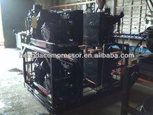 210CFM 580PSI Hengda high pressure air compressor belt