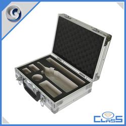 new silver wine case Aluminum tools box
