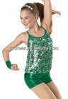 Cheerful Teen Girl Tap & Jazz Dancing Wear