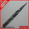 Cone Ball Nose Cutters/Tungsten Steel Carbide Router Bits/ End Mill Tools/ ALTiN/On Reliefs