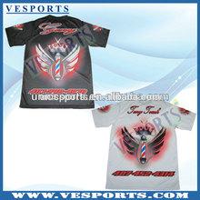 Custom T-shirt Sublimation Printing T Shirt