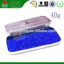 silicon dioxide moisture adsorbent desiccant blue /orange silica gel desiccant