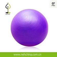 2015 cheap 65cm Diameter Purple Anti Burst Yoga Ball with CE Certificate