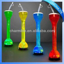 LED Flashing plastic yard cups 500-700ml beer yards