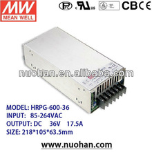 Meanwell 36V ac to dc switching power supply/600W Single Output with PFC Function