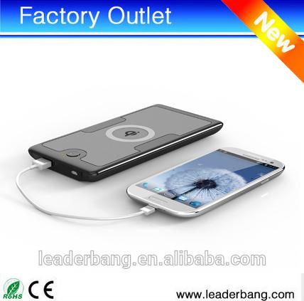 2014ผลิตภัณฑ์ใหม่ที่มีคุณภาพสูง6000mahqiไร้สายชาร์จธนาคารอำนาจ, ไร้สายราคาถูกโทรศัพท์มือถือพลังงานธนาคารสำหรับโทรศัพท์มือถือทั้งหมด
