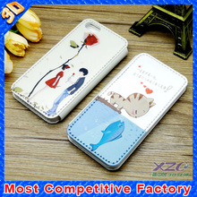 factory wholesale popular 3d mobile phone cover for iphone and samsung