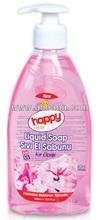 HAPPY CLEAN LIQUID HAND SOAP 400 ML WILD FLOWER