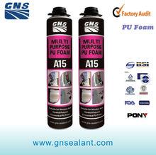 msds non expanding polyurethane spray foam