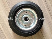200mm solid rubber wheel 8 inch wheel barrow solid rubber wheel