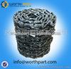 Steel forging John Deere 110 excavator track link assembly
