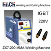 2014 New Portable Digital Super 200A Friction Metal Welding Single Phase 220V MMA200 IGBT DC Inverter Welding Machine