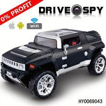 Hot sale 33cm 4ch wifi spy rc car with camera double din car radio 3g wifi HY0069043