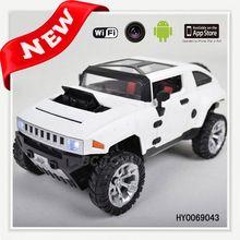 Hot sale 33cm 4ch wifi spy rc car with camera 2 din car pad dm7035 with gps 3g wifi HY0069043