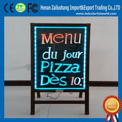 Solar Power Advertising Display For shops/restaurants/stores
