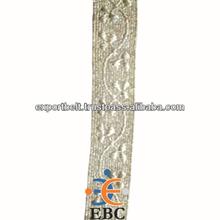 METALLIC SILVER UNIFORM BRAID | Silver Metal Braid for military uniforms and decorative trimmings