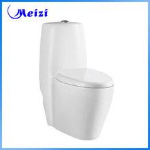 Bathroom ceramic siphon 1 piece toilet logo