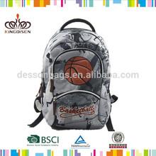 "Custom Fashinoable Made 17""/14""/12"" School Backpack&kids bag& school bag boy basketball bag"