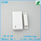 wireless magnetic door/window sensor/contact/detector enclosure