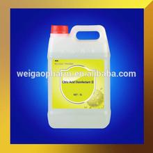 50% Hemodialysis Citric Acid Disinfectant