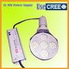 Shoebox NEW Retrofits with Mini design!! HPS&MHL 230-550W led high bay retrofit/led canopy lights/led gas station light