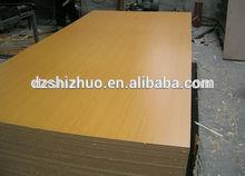 Low price melamine MDF/laminated sheet