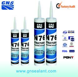 Professional aluminium silicone sealant adhesives and sealants brand