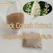 High quality Black Cohosh P.E.2.5% Triterpene glycosides