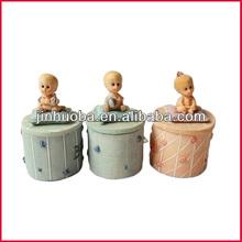 Cute new baby born for decor&baby figurine