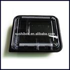 Disposable plastic take away bento box
