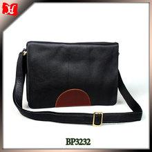 Fashionable leather single-shoulder bag