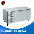 R143a/r404a acero inoxidable refrigerador comercial/congelador/refrigerador