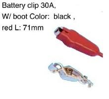 alligator clip badge reels, battery clip 30A
