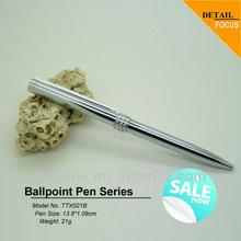 Advertising metal ball pen,brass pen