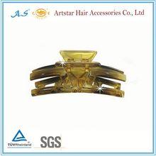 Artstar blank plastic hair claw clip 8008