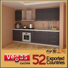 One wall design fiber german kitchen cabinet hardware