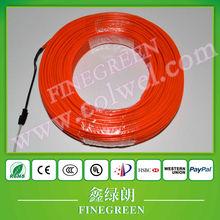 100 meter 2.3mm el wire wholesale,lighting up el wire,flexible el wire