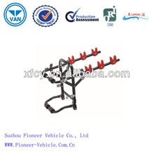 Powder coated steel auto rear rack/ car bike rack(ISO Approved)