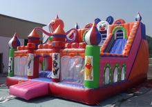 2015 new design Inflatable Playground/inflatable castle/amusement park games factory