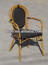 aluminum furniture outdoor/ bamboo restaurant chairs