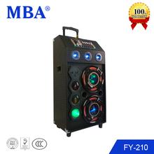 China OEM concert sound system wood bluetooth speaker box line array system