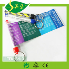 mini banner Pen with Pull out Paper and keyring