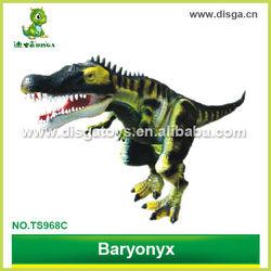 simulation dinosaur hand puppet toy baryonyx