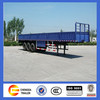 3 axle axle open cargo side wall semi trailer