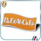 chrome car flag badge badges