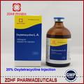 Produtos de saúde animal oxitetraciclina 20/30%/100ml injeção
