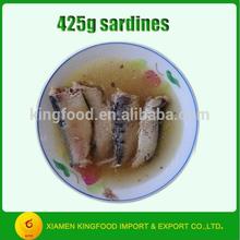 oil preservation Ingredient Canned Sardine Fish